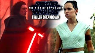 Star Wars The Rise Of Skywalker Trailer Breakdown! (Star Wars Episode 9 Teaser Trailer)