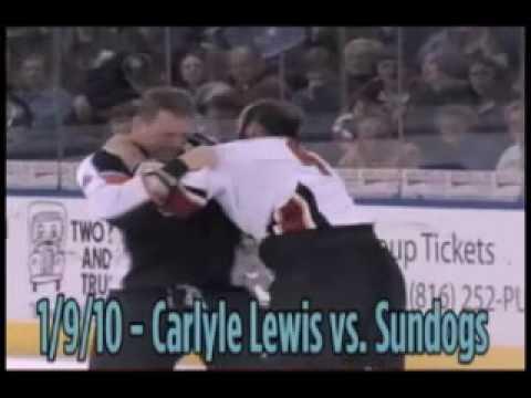 Carlyle Lewis vs. Cedric Bernier