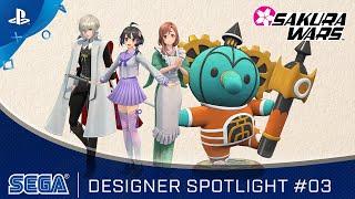 PlayStation Sakura Wars - Designer Spotlight #03  anuncio