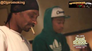 Snoop Dogg _ Wiz Khalifa AKA MacAndDevin in the Studio