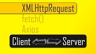 Sending JavaScript Http Requests with XMLHttpRequest