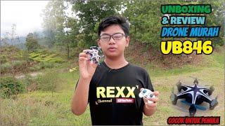 Unboxing drone 2021 U846 Drone - Cocok untuk pemula Drone Murah 100 ribuan