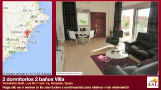 preview picture of video '2 dormitorios 2 baños Villa se Vende en Vistabella Golf, Los Montesinos, Alicante, Spain'