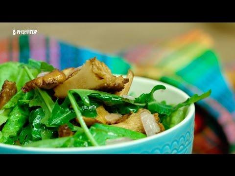Салат с лисичками и картофелем [Рецепты от Рецептор]
