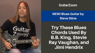 Try These Blues Chords Used By B.B. King, Stevie Ray Vaughan, and Jimi Hendrix