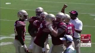 Seminole Moment: James Blackman's First Collegiate TD vs. NC State (2017)