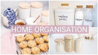 EASY HOME ORGANIZATION IDEAS