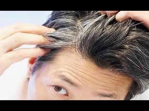 Die Maske die Behandlung des Haares auf den Ölen