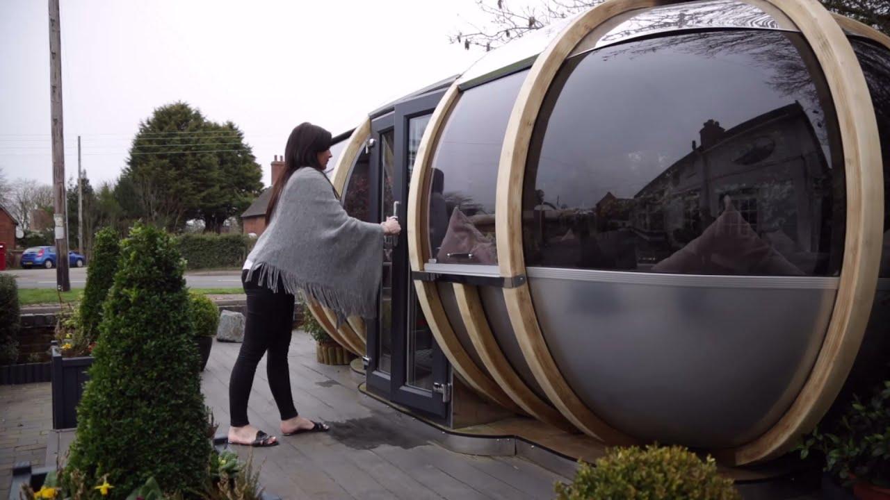 Large Oval House Garden Pod