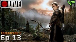SKYRIM - Legolas Role Play! (PC - Mods - PTBR) Temporada 1 - Ep.13