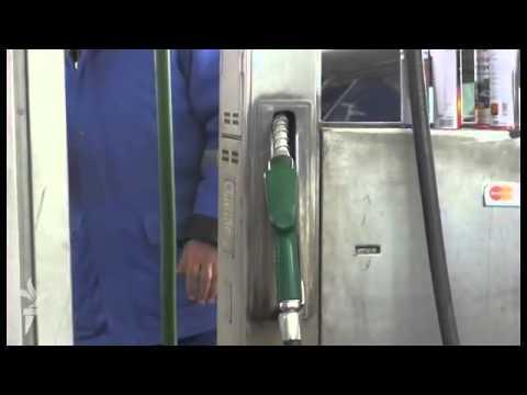 Das Gewicht des Kilogramms des Benzins