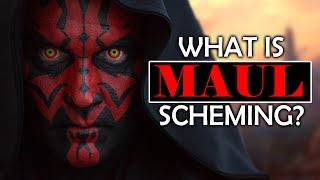 What Maul is Doing Before A NEW HOPE (SPOILER WARNING)