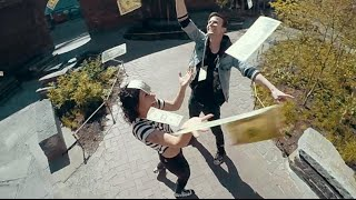 Matt and Kim - Let's Run Away - Official Music Video