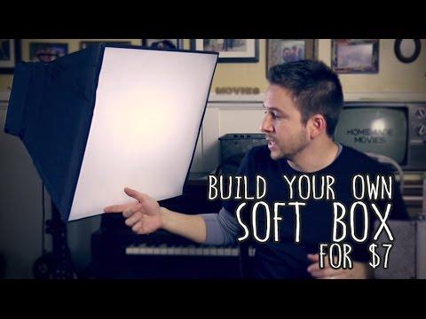 Soft Box for $7 [DIY]