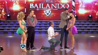 Showmatch 2014 - EN VIVO: el Chato Prada se comprometió con Lourdes Sánchez