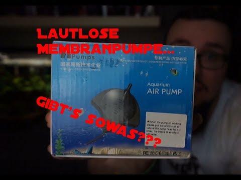 LAUTLOSE LUFTPUMPE, GIBT'S DAS???