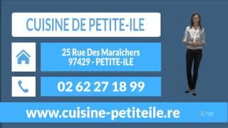 preview picture of video 'CUISINE DE PETITE ILE : menuiserie et agencement de cuisines et salles de bain à PETITE-ILE'