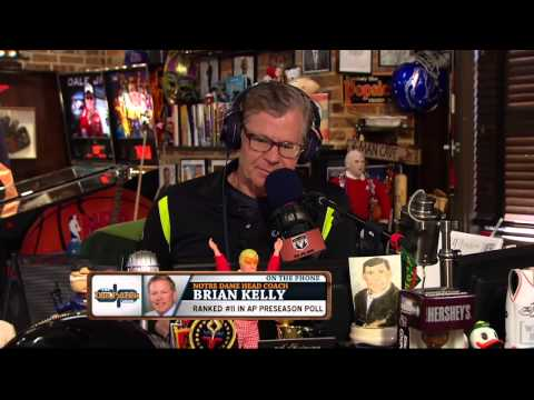 Brian Kelly on The Dan Patrick Show (Full Interview) 08/28/2015