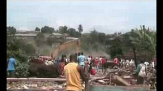 preview picture of video 'Destruction of the Ntaba Neighborhood at Yaoundé (Cameroon)'