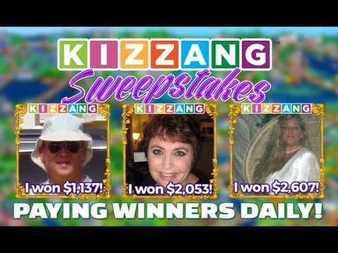 Video of KIZZANG Sweepstakes