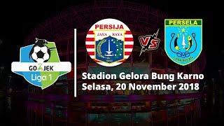 Live Streaming Indosiar Liga 1 Indonesia, Persija Jakarta Vs Persela Lamongan