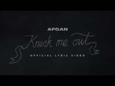 Afgan - Knock Me Out | Video Lirik - Trinity Optima Production
