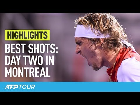 Best Moments Of Day Two In Montreal | HIGHLIGHTS | ATP