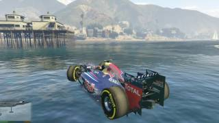 GTA 5 Mod Siêu Xe #3 - Siêu Xe Đua Red Bull F1 trong GTA 5