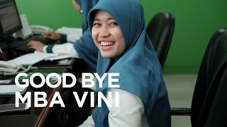 Farewell Mba Vini May We Meet Again In Happier Times   BPJS Ketenagakerjaan Jakarta Pulogebang