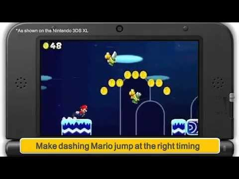 Some Stages In The New Mario Look A Lot Like Jetpack Joyride