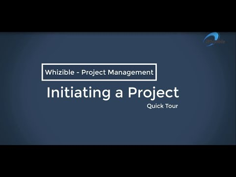How to initiate a project using Whizible ?