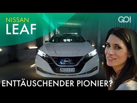Nissan Leaf - Generation 2 des EV-Pioniers | Cyndie Allemann testet
