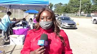 Community organizations host free COVID-19 drive thru test site in East Jackson