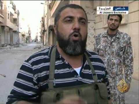 الجيش الحر يحاصر مواقع للنظام بدير الزور