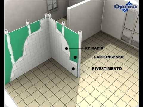 Aiuto muro cartongesso sbt 10 pnt yahoo answers - Incollare su piastrelle bagno ...