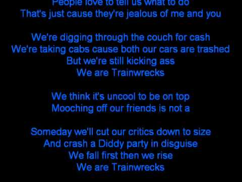 Weezer-TRAINWRECKS (LYRICS)