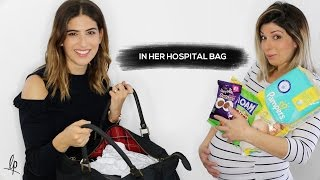 WHAT'S IN MY SISTER'S HOSPITAL BAG? | Lily Pebbles