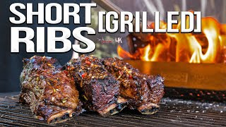 Epic GRILLED Beef Short Ribs | SAM THE COOKING GUY 4K