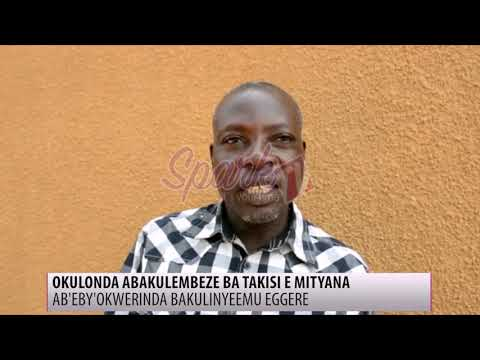 Okulonda kwabakulembeze ba taxi e Mityana kuyiise