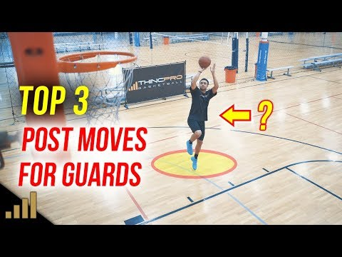 Top 3: Post Moves for Guards! Basketball Scoring Moves for Guards