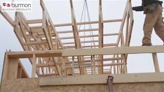 Burmon Roof Truss Connectors in Commercial Buildings