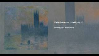 Violin Sonata no. 3 in E-flat major, Op. 12