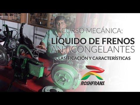 Curso Mecánica: Clasificación y Características de Liquido de Frenos y Anticongelantes