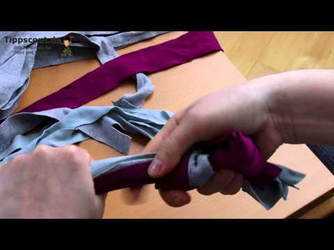 Hundespielzeug: Knotenseil selber machen