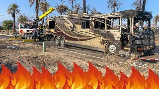Expensive RV Burns Down | Complete Total