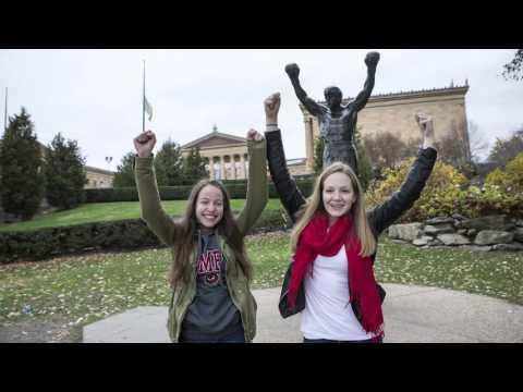 Temple Freshmen Explore Philadelphia