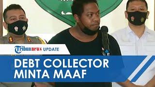 Terbata-bata, Dalang Aksi Debt Collector Rampas Mobil hingga Serang TNI Minta Maaf: Kami Salah