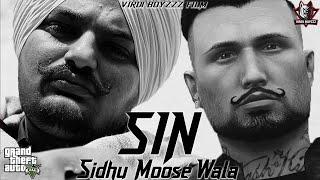 SIN - Sidhu Moosewala  |The Kidd | Punjabi GTA Video 2021 |Latest Punjabi song 2021|VIRDI BOYZZZ