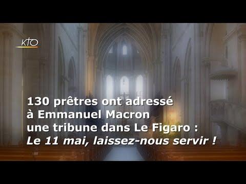 Une tribune de prêtres pour la reprise du culte le 11 mai