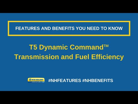 T5 Dynamic Command™ - Dynamic Command™ Transmission and Fuel Efficiency